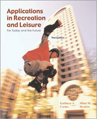 Image of Applications in recreation and leisure : for today and the future
