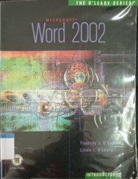 Image of Microsoft word 2002 : the O'Leary series