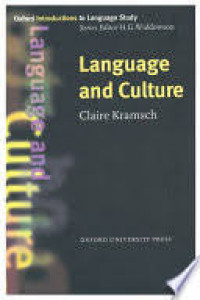 Image of Language and Culture